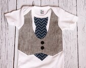 Baby Wedding Outfit // vest onesie// Baby Boy Clothes // Onesie Baby Boy // Baby Boy Onesie // photo pictures  // Sunday Best