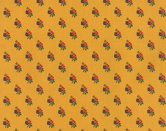 A la Carte - Small Flower in Yellow by American Jane for Moda Fabrics - Last Yard