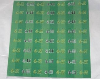 4-H 12x12 acid free paper