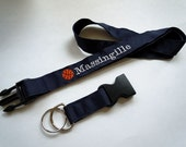Basketball Lanyard With Detachable Key Fob PERSONALIZED With YOUR NAME