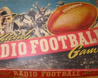 Early 1940's Radio Football Game / Complete