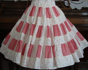 Three tier skirt