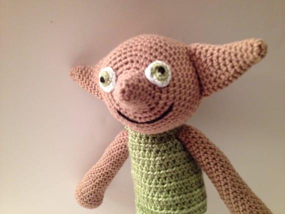 Dobby Crochet Amigurumi Doll by pigswife on Etsy