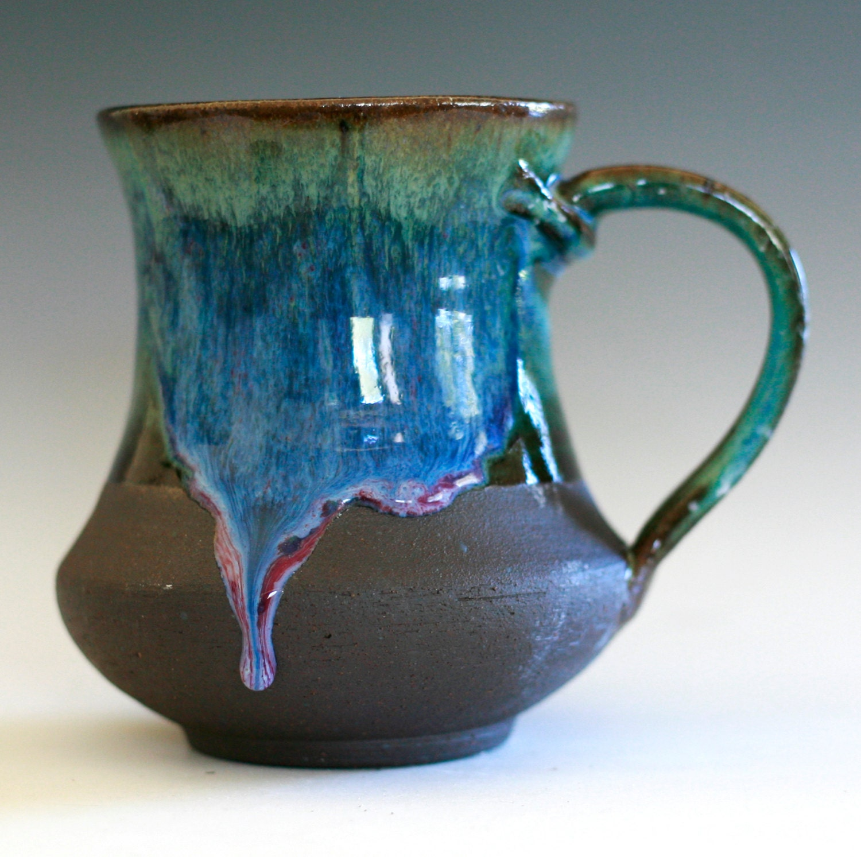 Japanese Coffee Mugs Large Coffee Mug 16 Oz Handmade Ceramic Cup Tea Cup Coffee