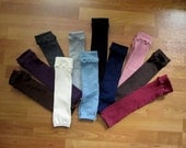 Solid Colored Leg Warmers - 4 Colors Left to Choose From