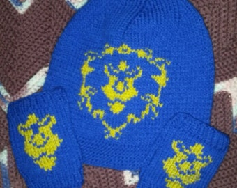 Alliance Slouchy and Fingerless Gloves Set