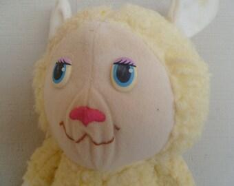 "Get Along Gang Woolma Lamb Plush 13"" 1984"