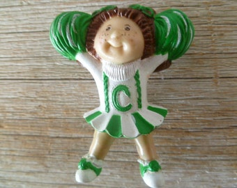 Cabbage Patch Kids Cheer Leader PVC Miniature