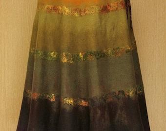 Sundown Rays / Felted Clothing / Skirt