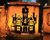 House of 7 Gables Halloween Lantern