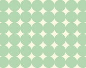 Mod Dot in Aqua  (PWTC014) - Heather Bailey TRUE COLORS - Free Spirit Fabric  - By the Yard