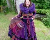 La Boheme - Custom gypsy sweater coat from recycled sweaters by SpiralGypsy - RESERVED for Lana, please do not purchase