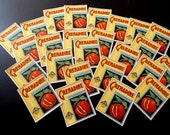 25 Vintage French Grenadine Drinks Labels 1920-30s Not Reprints
