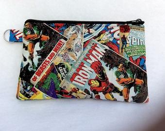 Marvel Comics Pencil Pouch // Makeup Bag