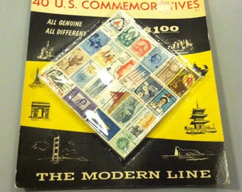 1960s 40 US Commemorative Stamps