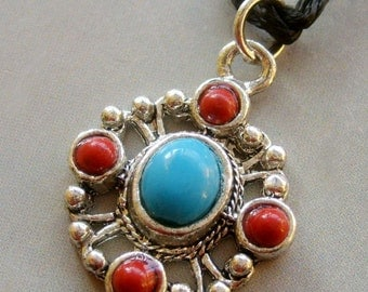 Fashion Jewelry Alloy Metal Pendant Necklace 30mm x 25mm  T1637