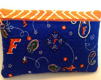 University of Florida Gator Nation  Zipper Pouch Bag Case