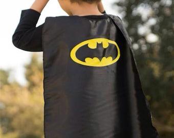 Superhero Childrens cape, Batman cape / Super Hero Cape for kids