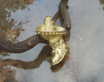 67 jewelry cinco de mayo sale sterling silver mexican sombrero a traditional mexicn boot gold plated 8307
