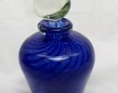 Blown Perfume Bottle - Hand Blown Glass