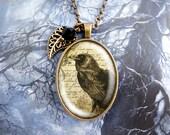 Raven - Vintage Necklace