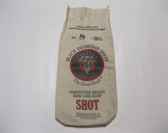 Holiday Gift Bag Idea Black Diamond Shot Good Stuff Canvas Bag Made in America With American Materials Perfect Supply for Crafting or Gifts