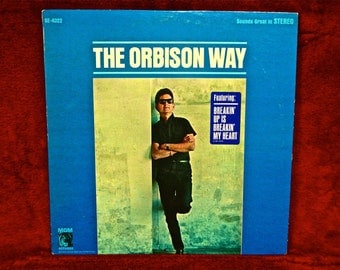 ROY ORBISON - The Orbison Way - 1967 Vintage Vinyl Record Album