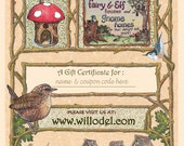 Willdodel Gift Certificate Coupon