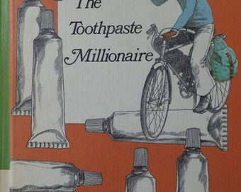 The Toothpaste Millionaire by Jean Merrill - 1972  vintage children's book