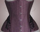 SALE! Sample underbust silk corset - size 36 / S / 56 cm waist