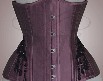 Underbust corset, size 36 /56 cm - Ready to ship