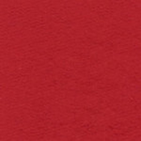 Red Sweatshirt Fleece Knit