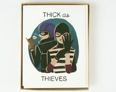 Thick as Thieves Card 10pcs