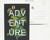 Adventure Postcard 8 pack