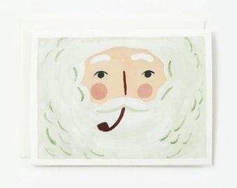 Santa Christmas Card 1pc