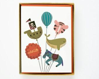 Toy Balloons Card 10pcs