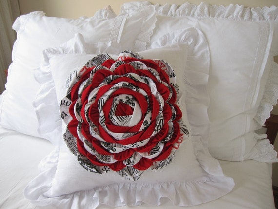 Runde Blume Zimmer Dekorative von nurdanceyiz auf Etsy