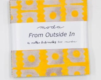 FLASH SALE From Outside In Charm Pack by Malka Dubrowsky for Moda