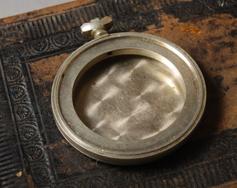 Vintage Pocket watches case, silver finished