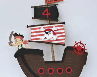 Pirate Jack Cake Topper