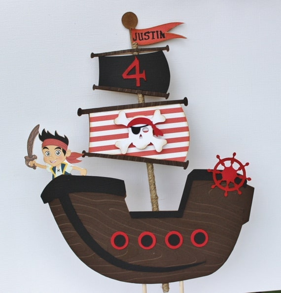 pirate cake toppers Photo