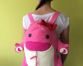 Quaggan Backpack - from Guild Wars 2