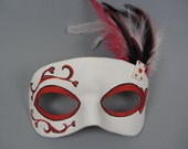 Deck of Cards Heart Masquerade Mask