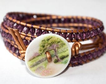 Walk in the Park Wrap Bracelet
