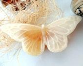 GOATS MILK & HONEY Butterfly Soap, Scented in Wild Honey, Handmade Vegetable Based