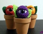 EyePod Mini Amigurumi Potted Plant