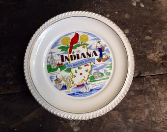 Vintage Indiana State Plate