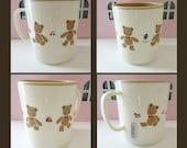 Vintage Sanrio Mr Bear's Dream Cup -Made in Japan Vintage Sanrio 1983, 1992