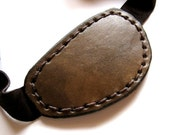 Leather Eyepatch Steampunk Small Eyepatch Brown Eyepatch Eye Patch Cosplay