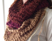Color Block Bohemian Gypsy Rose Scarf CLEARANCE!